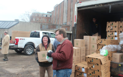 200 Area Families Given Thanksgiving Meals